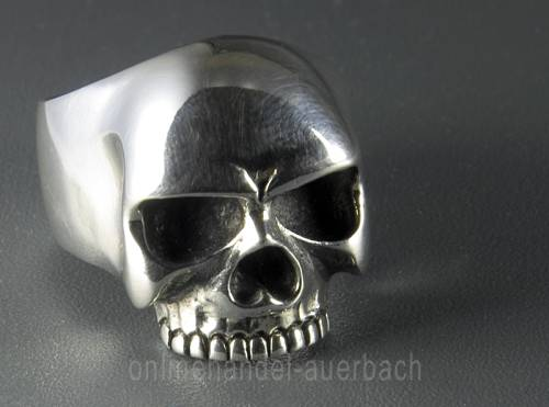 Totenkopf Skull Ring Keith Richards Sterlingsilber