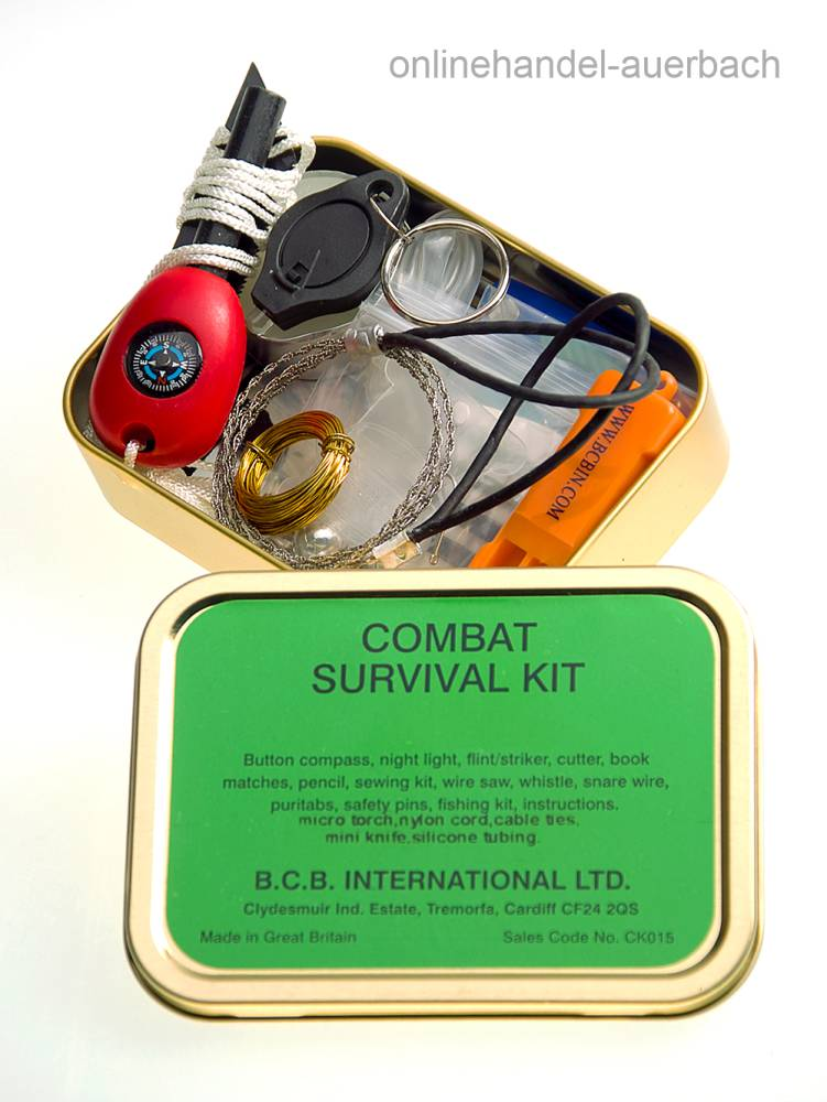 Bushcraft Combat Survival Kit