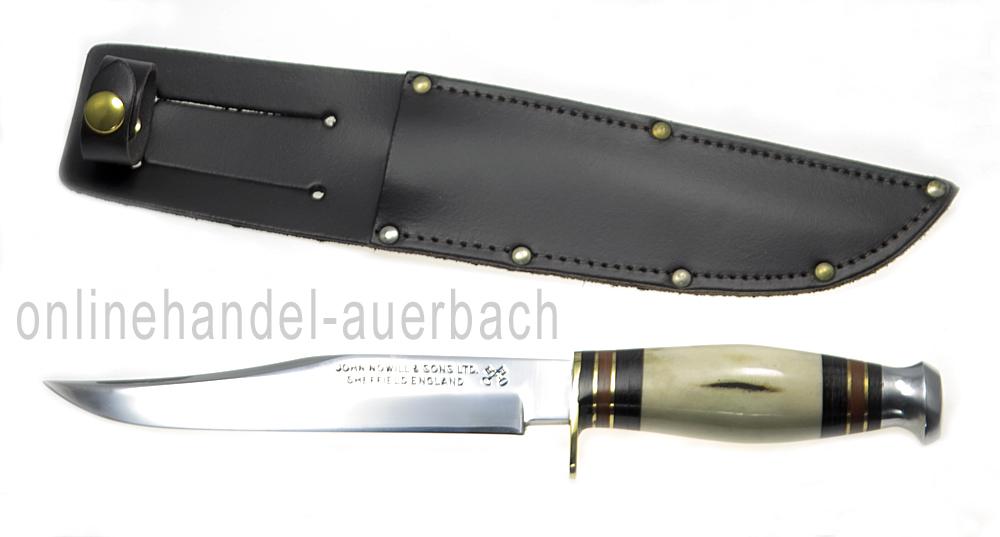 sheffield knives bowie knife hirschhorn messer outdoor survival ebay. Black Bedroom Furniture Sets. Home Design Ideas